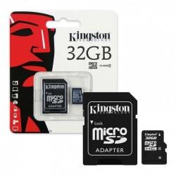 Micro sd kingston 32gb c10...