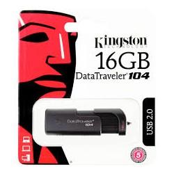 Pendrive Kingston 16GB...