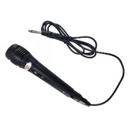 Microfono Dinamico Con Cable
