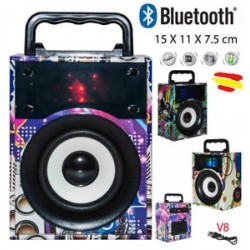 Parlante Bluetooth Usb...