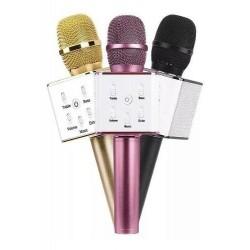 Microfono Karaoke con estuche